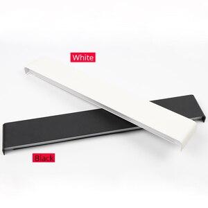 Image 2 - 61 cm/76 cm led 벽 램프 현대 침실 벽 빛 거실 계단 조명 장식 알루미늄 디 밍이 가능한 원격 제어