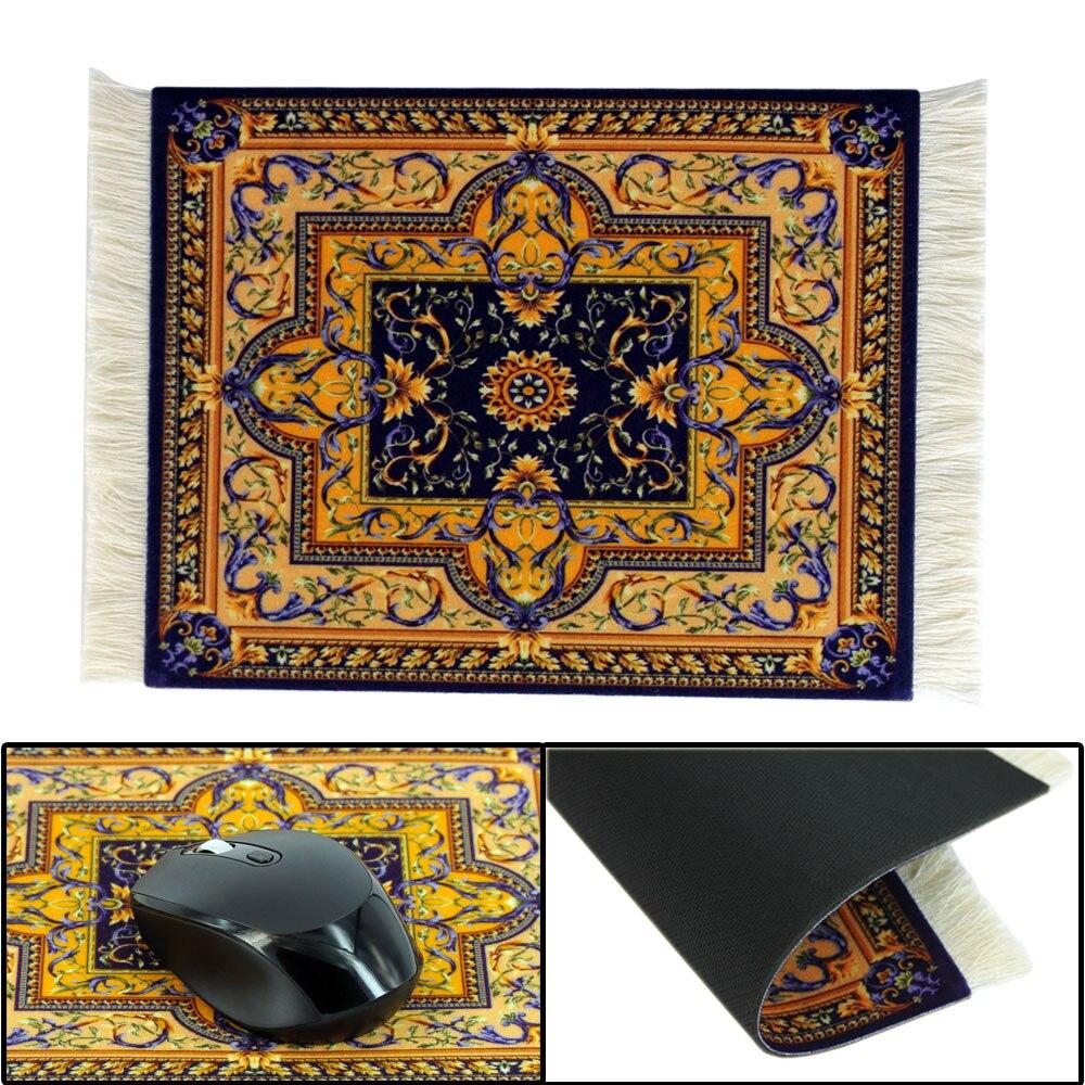 JONSNOW Persian Carpet Style Rubber Anti-slip Mousepad Durable Rectangle Printing Gaming Mouse Pads Computer Tablet Mat