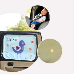 Image 5 - 70*50cm רכב קריקטורה וילון כיסוי שמש חסימת אוטומטי וילון צד חסימת מתיחה שמשיה וילון לילדים לרכב סטיילינג