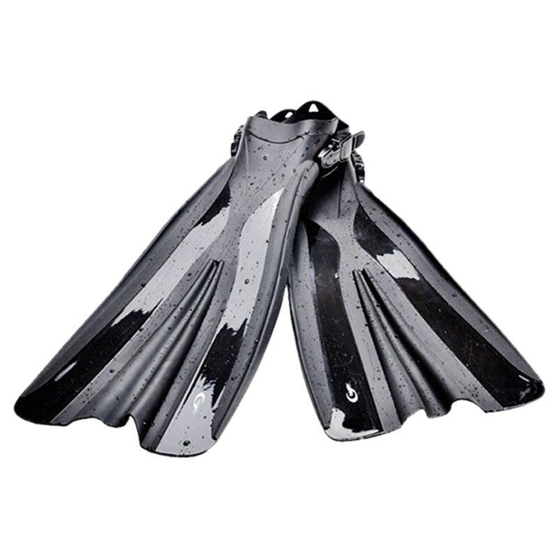 Yon Sub palmes de plongée natation entraînement Long pied Flipper réglable palmes de plongée équipement de Sport nautique pour adultes hommes Wo