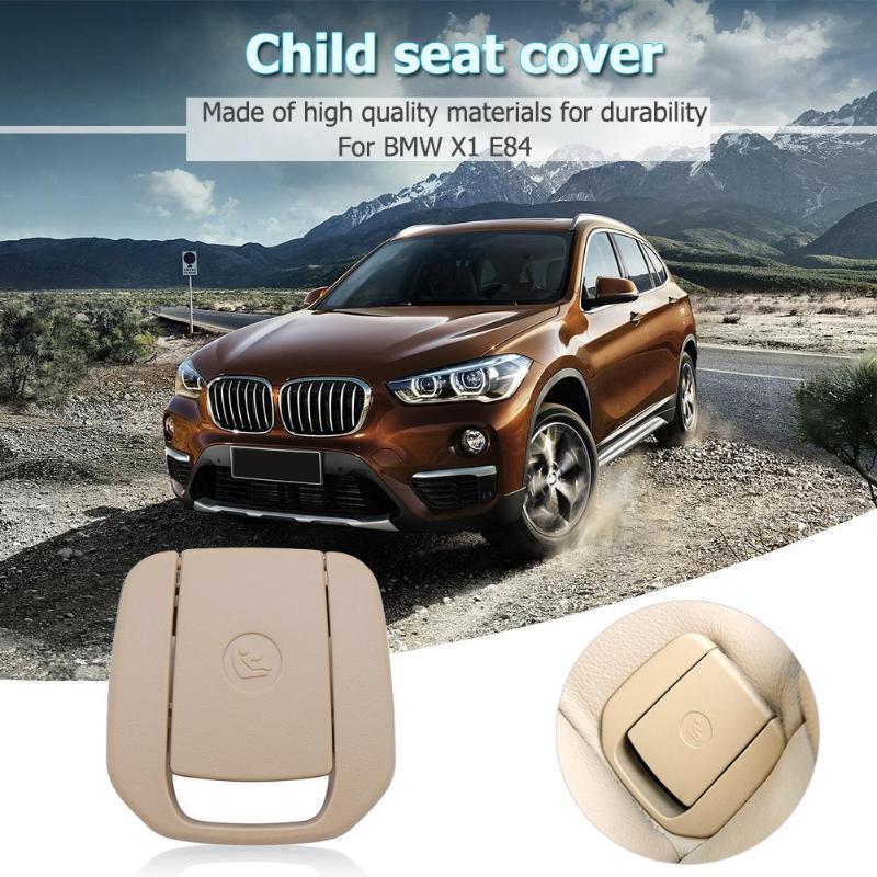 Auto Hinten Sitz Haken Isofix Abdeckung Kind Zurückhaltung Für Bmw X1 E84 3 Serie E90/f30 1 Serie E87 Schwarz/beige Schnelle WäRmeableitung