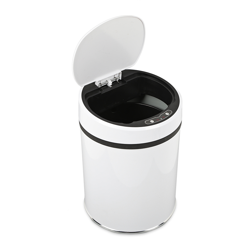 Automatic Trash Can Bin Wastebacket Infrared Touchless Automatic Dustbin Kitchen Sensor Waste Can Poubelle Salle De Bain CleanerAutomatic Trash Can Bin Wastebacket Infrared Touchless Automatic Dustbin Kitchen Sensor Waste Can Poubelle Salle De Bain Cleaner