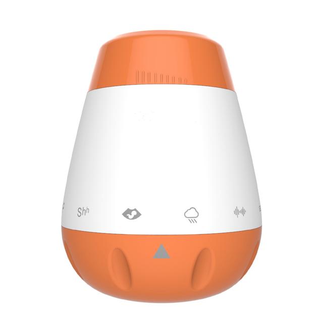 Sound Machine Sleep Soother Voice Sensor Infants White