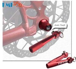 FMF piasty rowerowe Quick Release szaszłyki z zabezpieczeniem przeciw kradzieży szpikulec MTB górska droga koło rowerowe blokowanie bezpieczeństwa narzędzie do naprawy rowerów w Narzędzia do naprawy roweru od Sport i rozrywka na