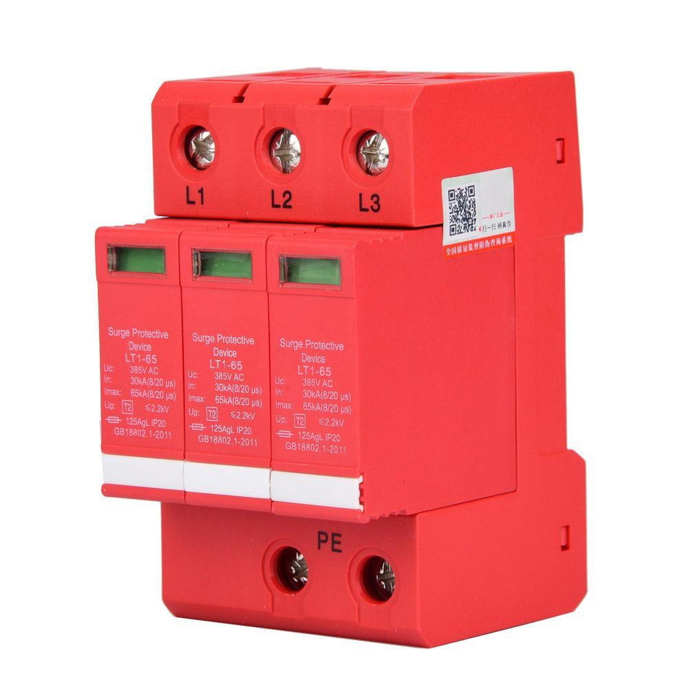 3p 4p 65 80 ka house surge protector circuit breaker protective device low voltage arrester device [ 1001 x 1001 Pixel ]
