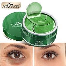 Korean Collagen Crystal Eye Patches Reduce Dark circles Gel for eyes Eye Care Sleep Masks Anti Age Bag Eye Wrinkle 60 piece