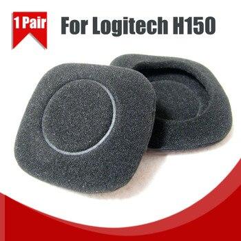 1Pair/2pcs Replacement Earphone Ear Pads Earpads Sponge Soft Foam Cushion For Logitech H150 H130 Headphones