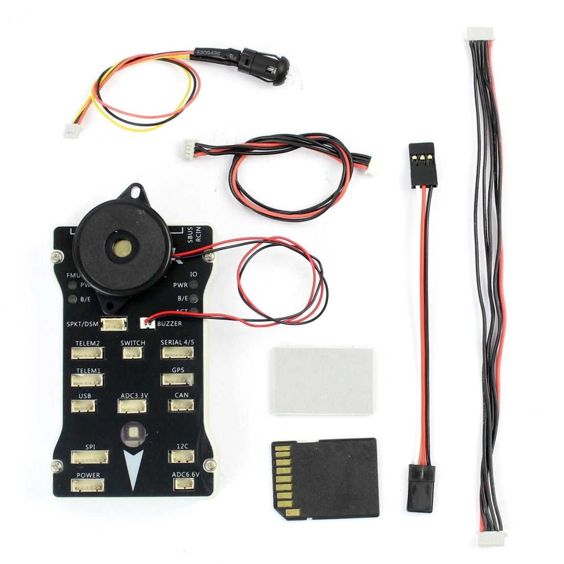 Pixhawk PX4 Autopilot PIX 2 4 8 32 Bit Flight Control with PX4FMU PX4IO  Safety Switch Buzzer 1G for DIY RC Drone Multirotor