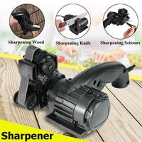 Multifunction Knife Sharpener Full Automatic Home Electric Work Knife Sanding Belt Sharpener Knife Sharpening Kitchen Tools