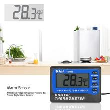 TM803 LCD Fridge Refrigerator Medicine Box Freezer Digital Alarm Sensors Digital Alarm Sensors Temperature Digital Alarm Sensors
