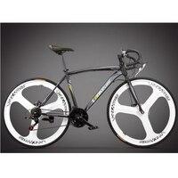 T270104 1/City male and female bike/Aerospace aluminum alloy frame/Road bike / 21/27 speed / Mechanical disc brake/