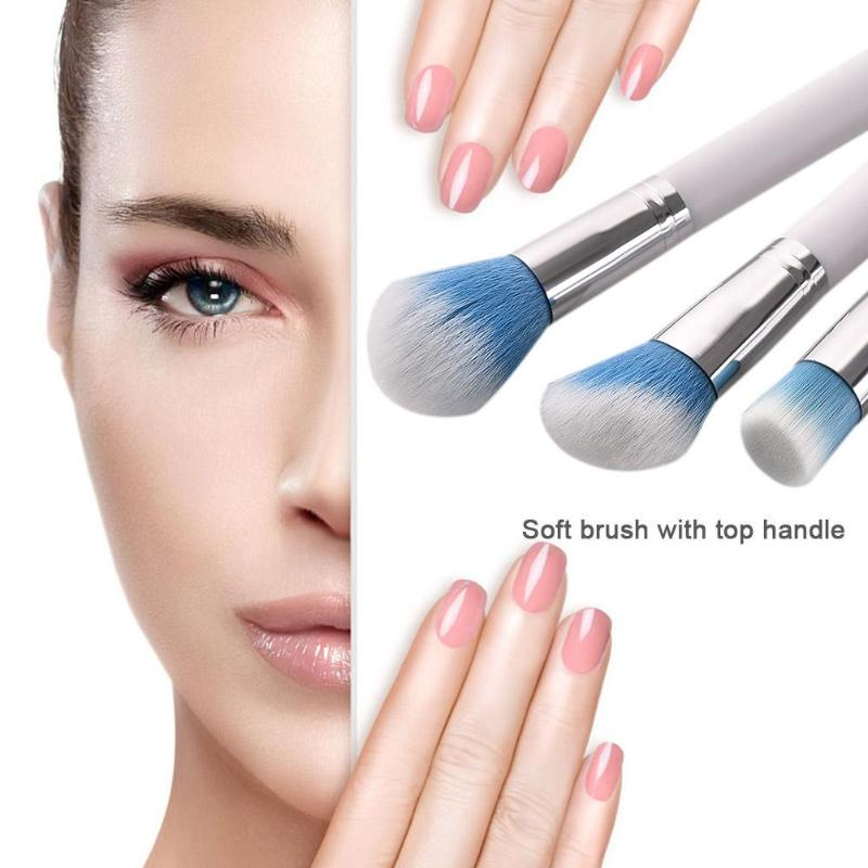 5Pcs Pink Makeup Brush Set Eye Shadow Concealer Crease Eyebrow Foundation Brushes Face Brush Tools in Eye Shadow Applicator from Beauty Health