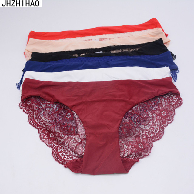 6 pcs/lot underwear women Sexy panties bragas g string briefs lingerie M-XXL calcinha panty tangas culotte femme bielizna damska