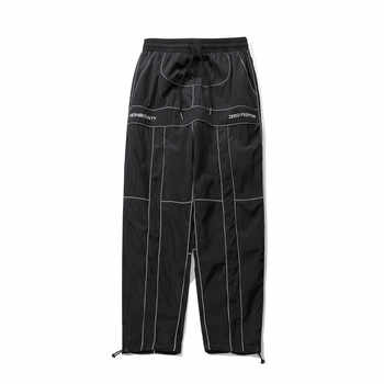 2019 Summer Dropshipping 3M reflective personality fashion hip hop harem pants trousers male Tactical Pants Cargo Pants