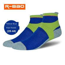 R-BAO Professional No Waterproof Socks Men Women Cycling Climbing Hiking Skiing High Quality Outdoor Warm breathable
