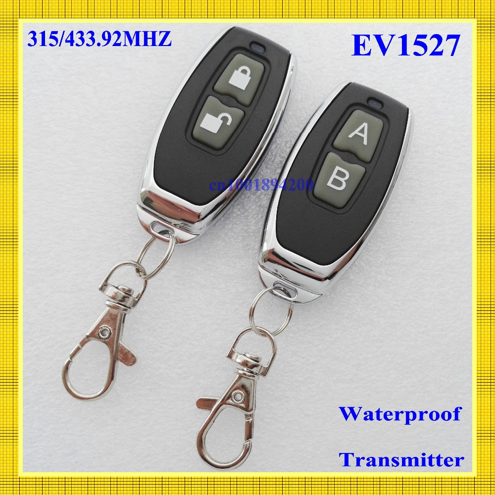 RF Remote Control Transmitter 2 Button Lock Unlock Metal remote High-end upscale High Grade Wireless Remote Transmitter 315/433RF Remote Control Transmitter 2 Button Lock Unlock Metal remote High-end upscale High Grade Wireless Remote Transmitter 315/433