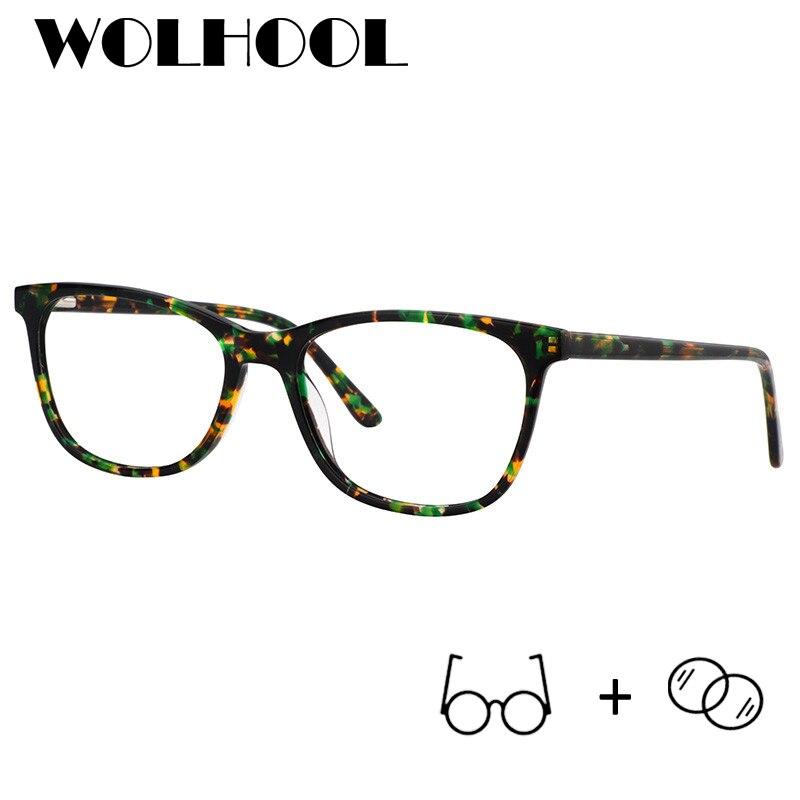 Ausdauernd Klassischen Acetat Brillen Männer Optische Photochrome Anti Blau Licht Klar Objektiv Hyperopie Myopie Gläser Frauen Ruf Zuerst Korrektionsbrillen