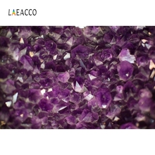 Laeacco Purple Lavender Backdrop Crystal Grass Photography Backgrounds Customized Photographic Backdrops For Photo Studio
