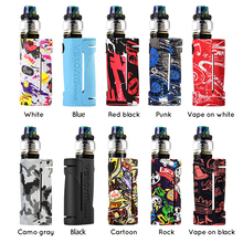 Vapor Storm ECO Hawk Tank Electronic Cigarettes Graffiti Vape Kit Without 18650 Battery Bypass Box Mod 2ml Sub Ohm Tank Kits