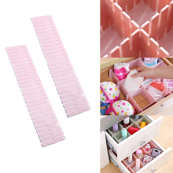 Adjustable Clothes Drawer Organizer and Clothes Drawer Divider for Storage of Underwear and Socks