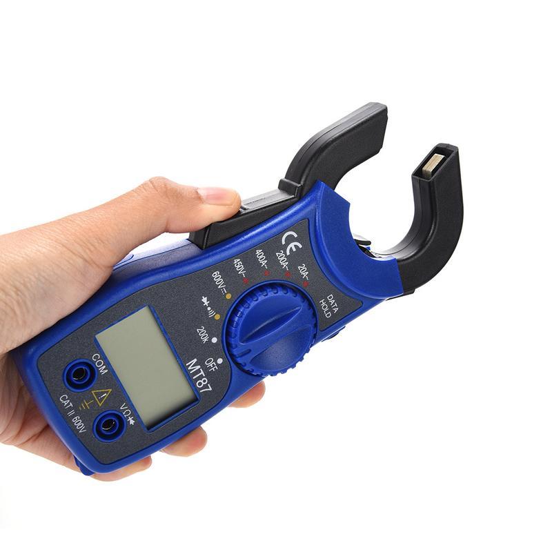 Portable MT87 Digital Clamp Ammeter Multimeter With Measurement AC/DC Voltage Tester Current Resistance Multi Test Clamp Meters