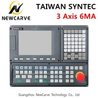 TAIWAN SYNTEC 6MA 3 Axis CNC Milling Machine Controller LCD displays 3 Axis Servo Positioning Control System Manual NEWCARVE