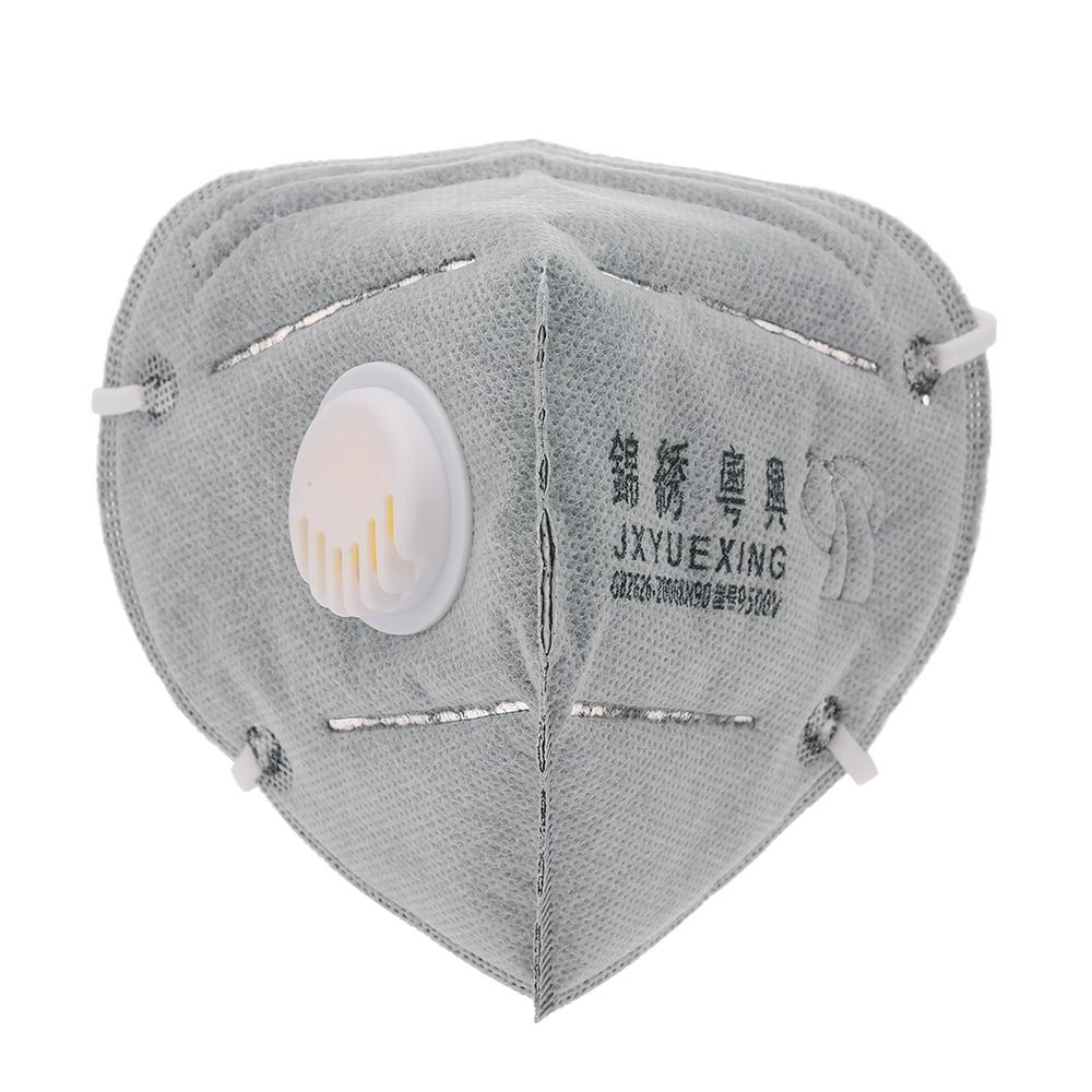Ambicioso 10/50 Piezas De Trabajo Protección N95 Respirador De Filtro De Gas Máscara De Polvo De Pintura De Máscara De Carbono Activado Máscara De Respiración Con Válvula Tiempo Puntual