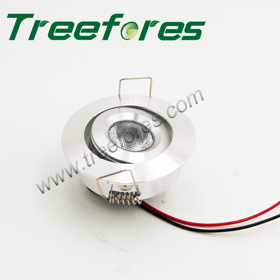 3W 12V 24VDC Mini LED Spotlight Ceiling Lamp 300Lm CREE COB Spot Lighting For Showcase Display Wine Light CE RoHS