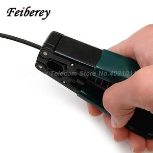 Image 5 - 3 in 1 FTTH Fibra Ottica Stripper Tool Kit CFS 2 CFS 3 in Fibra Ottica Pinza A Nudo Pinza Interna di Goccia Guaina Del Cavo Peeling pinza