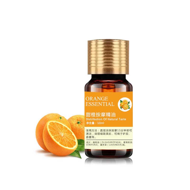 En gros 10ml huiles essentielles organiques pour aromathérapie diffuseurs huile corporelle relaxant aide au sommeil aromathérapie huile de Massage TSLM2
