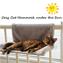Deluxe Cat Hammock Removable Window Sill Radiator Bed Perch Seat Lounge Pet Kitty Hanging Cosy