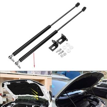 2Pcs 54cm Universal Car Front Hood Bonnet Gas Strut Lift Support Springs For Nissan Qashqai J11 2014 2015 2016 2017 2018 - discount item  4% OFF Auto Replacement Parts