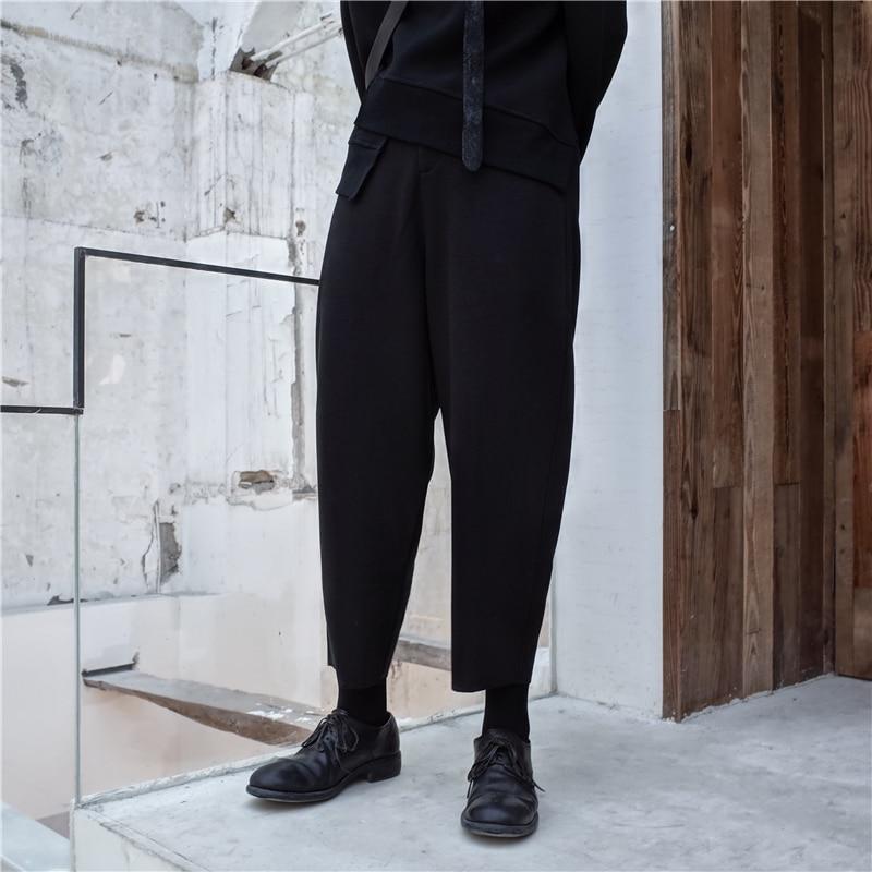 Marea Negro L172 Mujeres Pantalones Del Invierno Las Largo Moda Cintura La Black Otoño 2019 fósforo Ocio De Nuevo Elástica Todo Alta Grueso zYTnqx6OwR