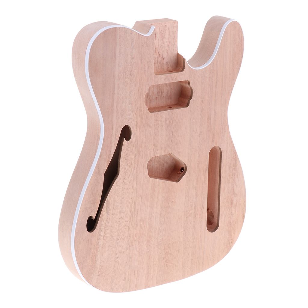 Wood Unfinished Diy Electric <font><b>Guitar</b></font> <font><b>Body</b></font> for <font><b>Telecaster</b></font> <font><b>Guitar</b></font> Accessory Soild Durable image