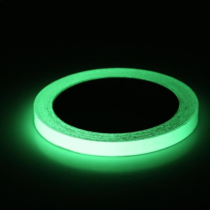 Tape 3m/10m Fluorescent Tape Night Vision Stripes Glow In The Dark Wall Sticker Safety Security Home Decoration Luminous Tapes To Prevent And Cure Diseases