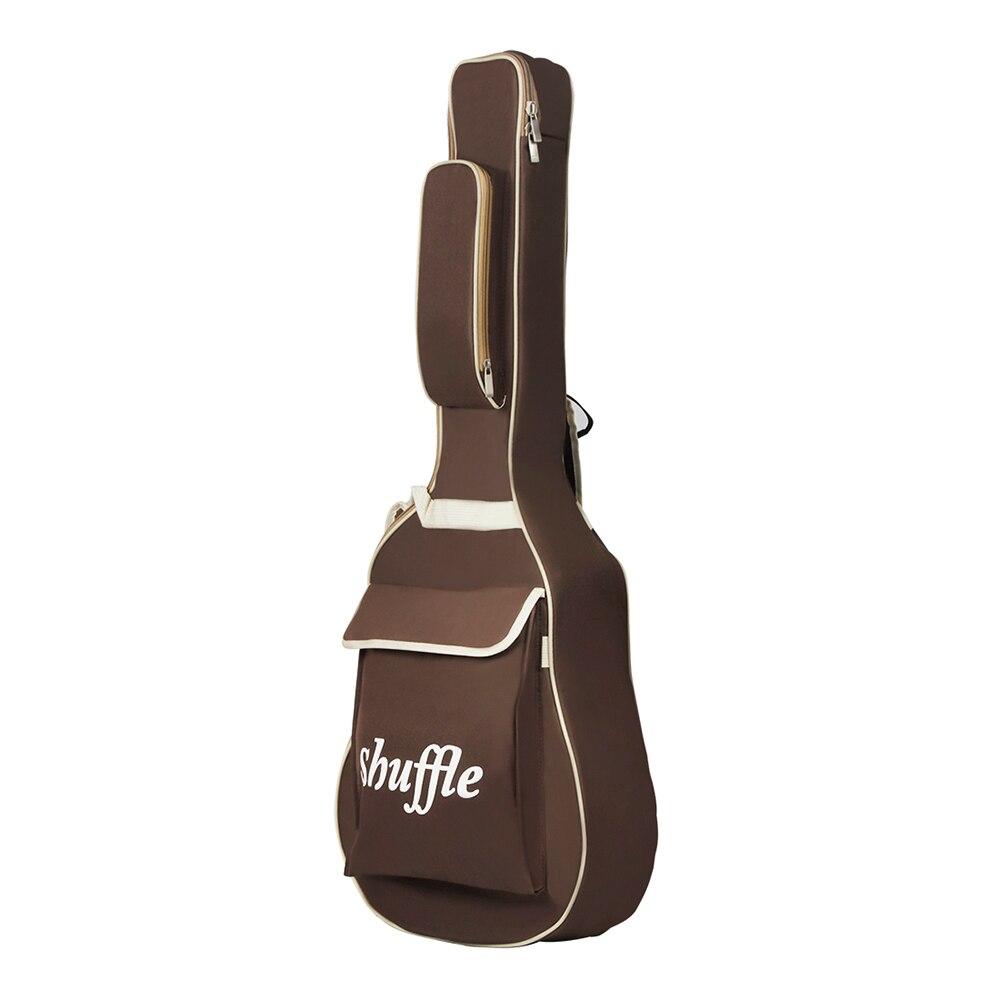 guitar gig bag backpack soft acoustic guitar case water resistant padded for 40 41 42 inch. Black Bedroom Furniture Sets. Home Design Ideas