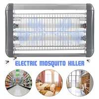 220V Electric Mosquito Killer Lamp Insect Traps LED Light Anti Killing Wasp Bug Fly Zapper Traps for Bedroom Outdoor Home Garden