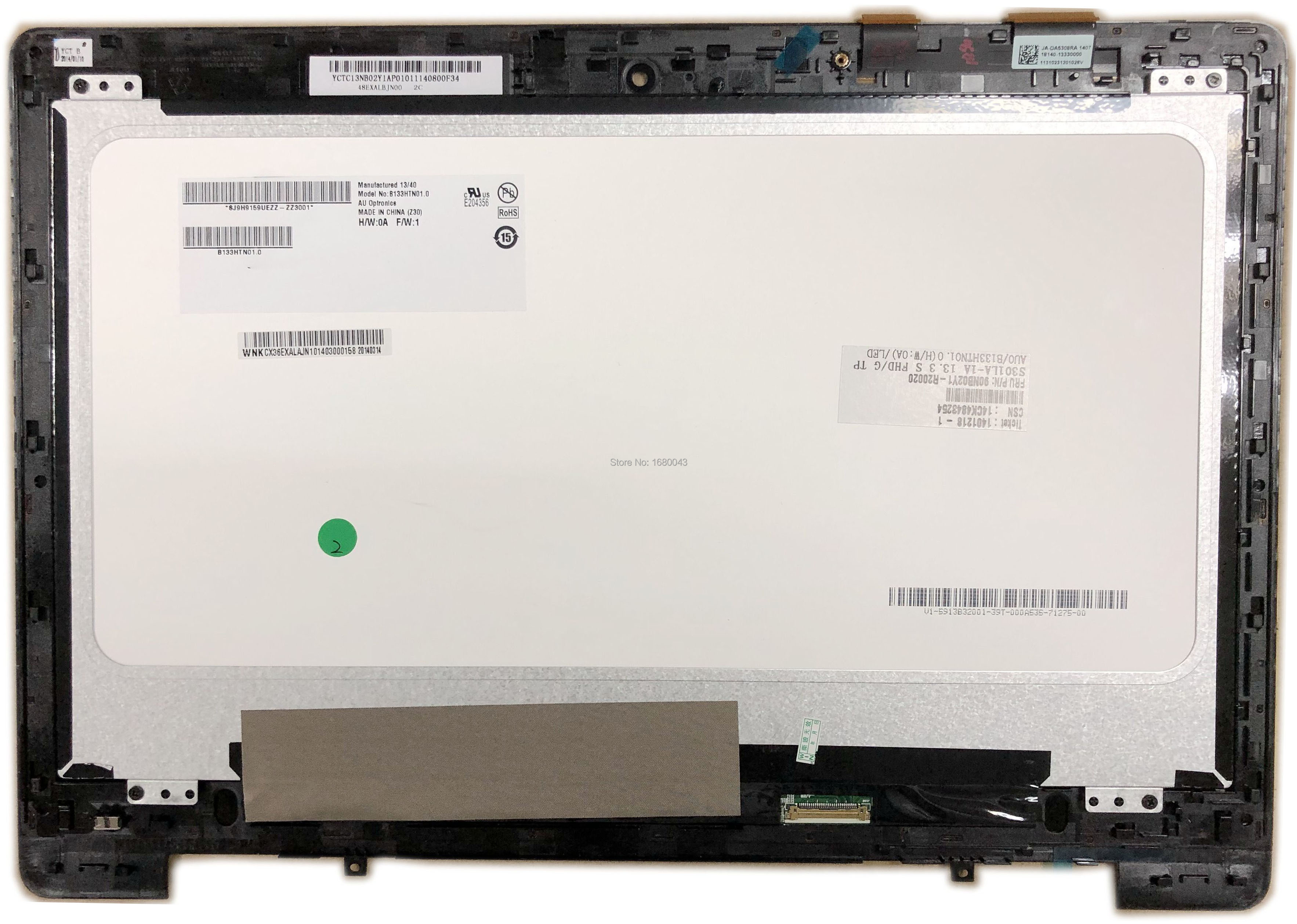 New Asus VivoBook Q301 Q301L Q301LA Q301LA-BHi5T02 Q301LP US Keyboard NO Frame