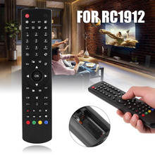 Mayitr 1pc RC1912 Portable Remote Control Universal Replacement TV Remote Controller for RC1912 TV