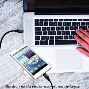 Image 2 - Cable de extensión USB tipo C de 1M, Cable de vídeo y datos USB 3,1, USB C macho a hembra, extensor de Cable, conector de Cable