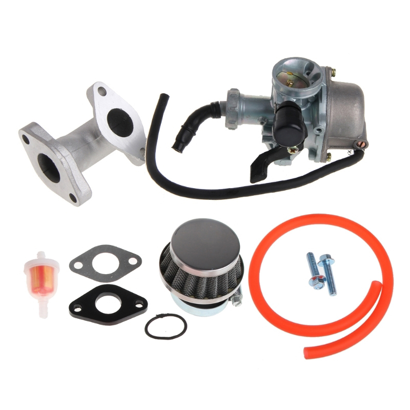 For 110cc 125cc ATV 22mm Carburetor Carb Gas Air Filter Pipe Replacement Parts