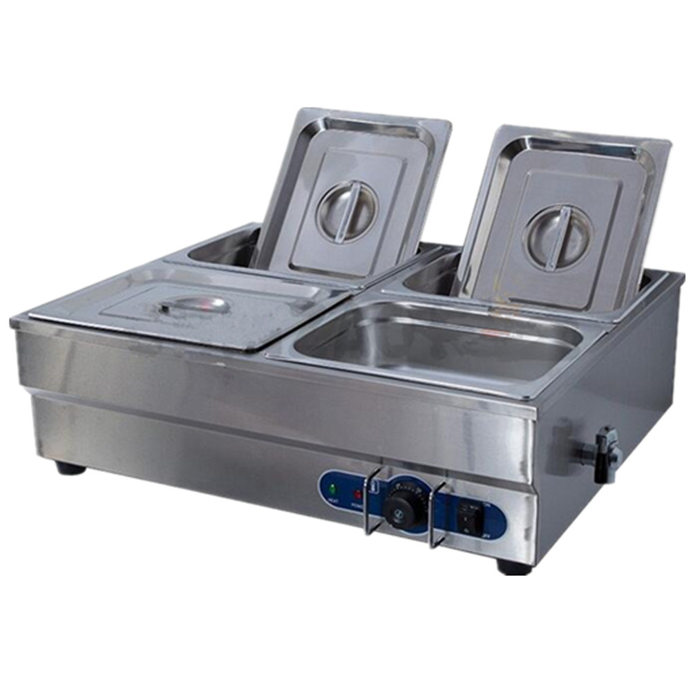 Commercial Restaurant Electric Bain Marie Buffet Stainless Steel Insulation Deep Soup Stove Catering Food Warmer MachineCommercial Restaurant Electric Bain Marie Buffet Stainless Steel Insulation Deep Soup Stove Catering Food Warmer Machine