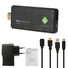 MK809 IV TV Stick Android 5.1 klucz telewizyjny RK3229 czterordzeniowy 1G / 8G UHD 4K HD Mini PC Miracast / DLNA H.265 WiFi inteligentny odtwarzacz multimedialny