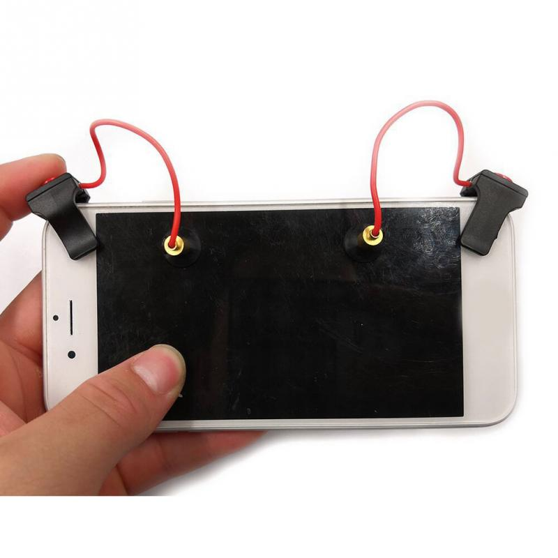 Smart phone Keypad Gaming Trigger Fire Button Aim Key Mobile