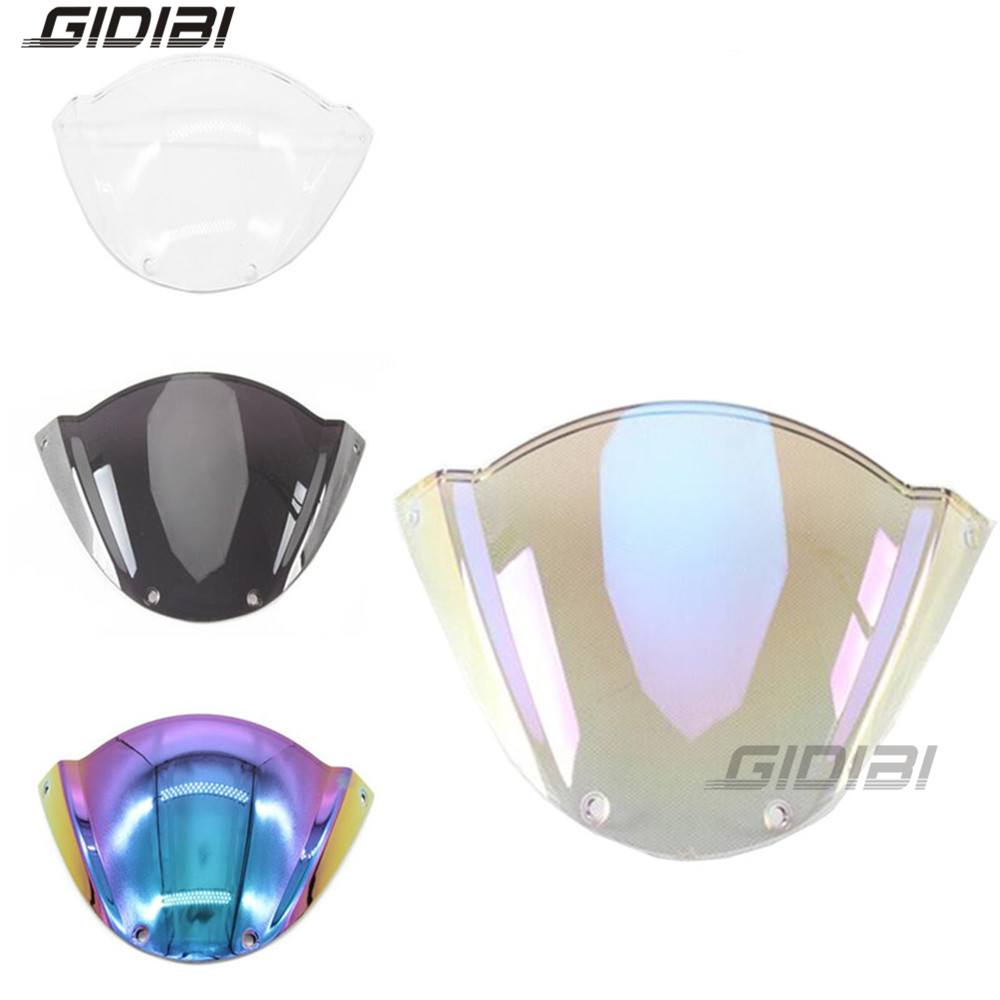 5 Color PC Windshield WindScreen For Ducati M1000 Monster 696 659 795 796