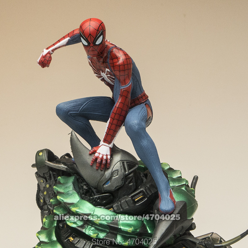 Free Shipping Marvel 18cm The Amazing Spider Man Rhin Armor Model toys Action Figures toys Doll