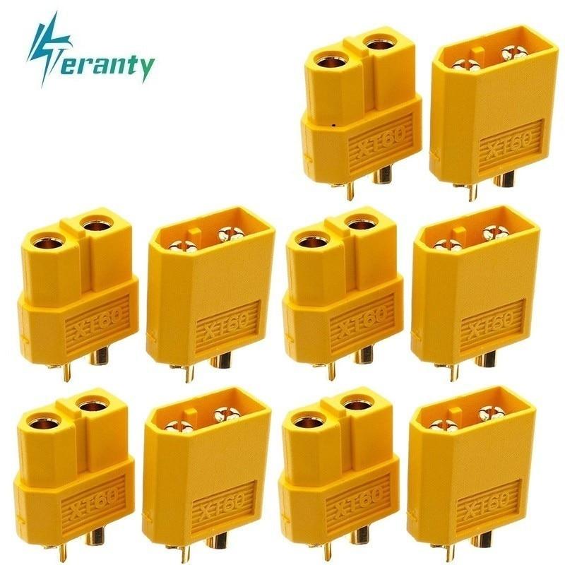10pcs/sets XT30 XT60 XT90 Plug Male Female Bullet Connectors Plugs For RC Lipo Battery T Plug For Aircraft Accessories Parts