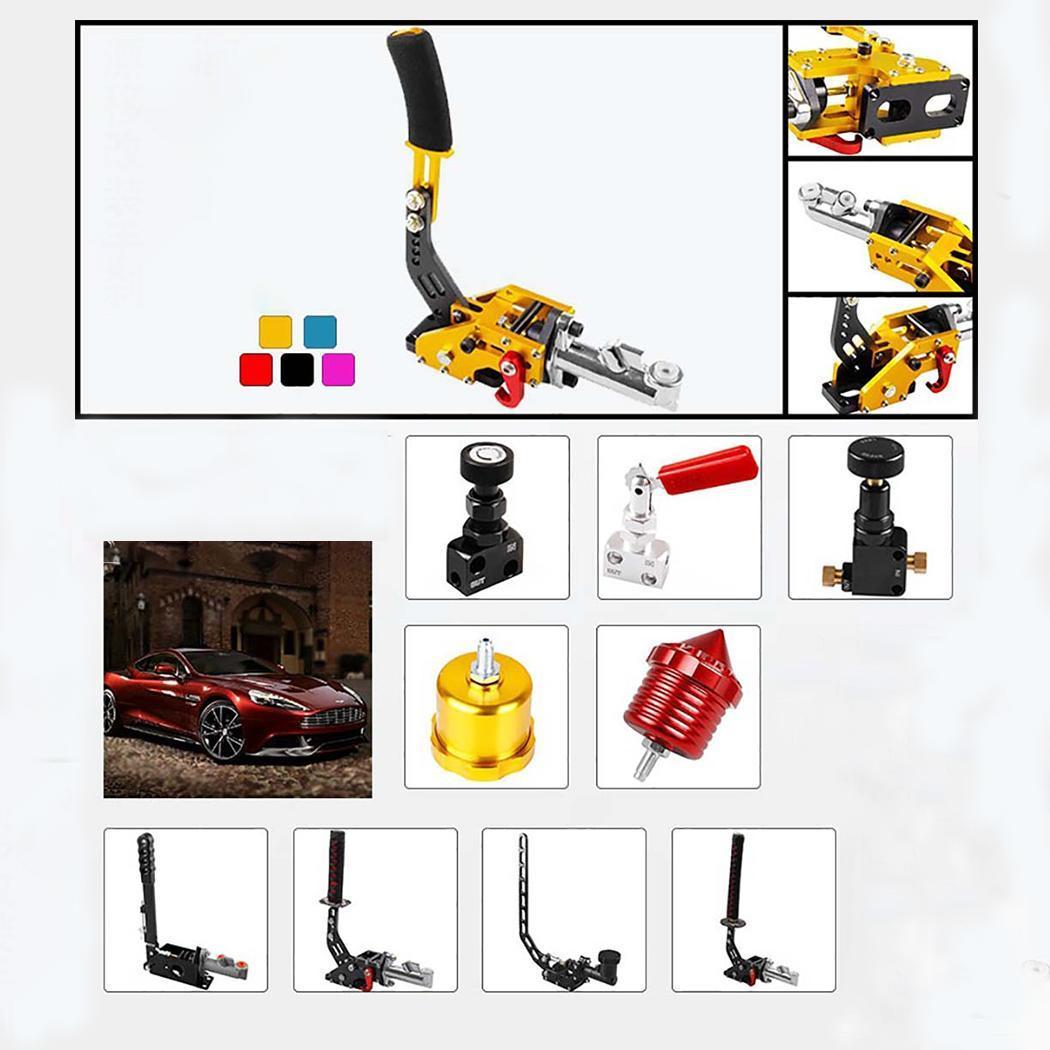 Frein à main hydraulique automatique général course frein à main installation facile dérive de voiture frein à main 1.2 kg