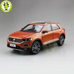 1/18 FAW T-ROC T ROC fundición juguetes de modelo de coche niños niñas colección de regalos para cumpleaños Hobby