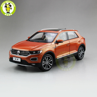 1/18 FAW V W T ROC T ROC Diecast Car Model Toys KIDS Boys Girls Birthday Gift Collection Hobby Orange